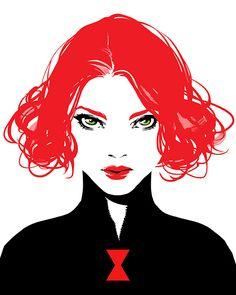 Black Widow by Irene Flores