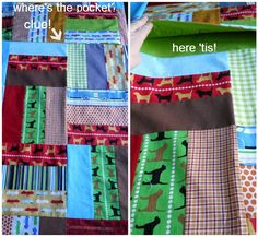 Quillow Tutorial  -- a play quilt that folds into its own carrying case! :-)