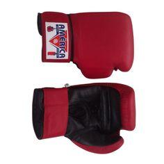 d19babe5a Luva de Boxe Couro Vermelha América