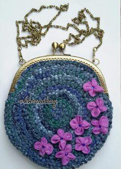 #khrombag #вязанная сумочка
