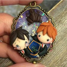 44 New Ideas for gifts harry potter ron weasley Polymer Clay Disney, Cute Polymer Clay, Cute Clay, Polymer Clay Dolls, Harry Potter Ron Weasley, Harry Potter Anime, Harry Potter Gifts, Harry Potter World, Harry Potter Ornaments