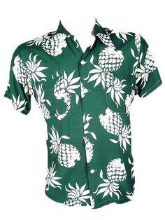50s Duke Kahanamoku Aloha Hawaiian Shirt Shorts Set #Hawaiian