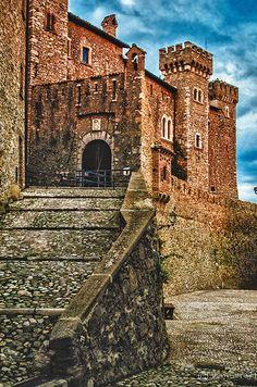 Medieval Castle, Collalto Sabino, Lazio, Italy