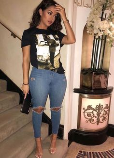 Casual Outfit Ideas For Ladies/Girls Mode Outfits, Stylish Outfits, Fall Outfits, Summer Outfits, Fashion Outfits, Womens Fashion, Curvy Outfits, Tween Fashion, Skirt Outfits