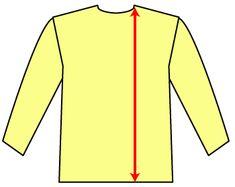型紙がなくても作れるTシャツの作り方です