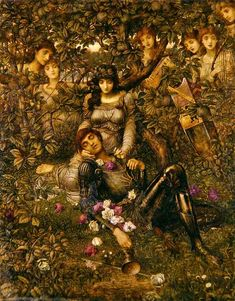 John Melhuish Strudwick ~ Acrasia ~ c. 1888 ~ via Pre Raphaelite Art