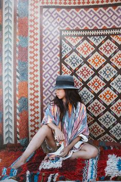 Patterns Galore! Photography By Dabito, Styling by Justina Blakeney for Calypso St. Barth Maison.