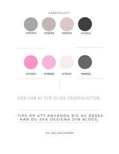 color palet , webdesign , tips and tricks