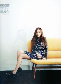 SNSD Jessica Jung Girls Generation Harper Bazaar 2014