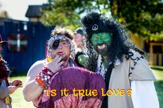 Ebaneeza meets the Orc of her dreams!  please take the time to like https://www.facebook.com/EbeneezerGrumpypants/  #fae#orc#goblin#love#boggart#bogle#oren#ohren#oren2016#humor#silly#faerie#fairy