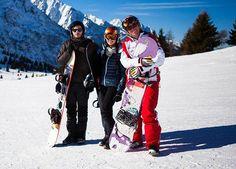 Se siete amanti dello snowboard, Ponte di Legno è il posto giusto dove affinare le proprie abilità di discesa (ph. Jacopo Cazzaniga)