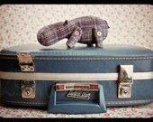 Cute hippo pattern!