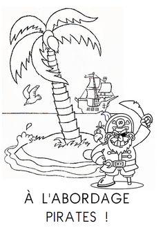Fichier de lecture thématique pirates pour moyenne et grande sections