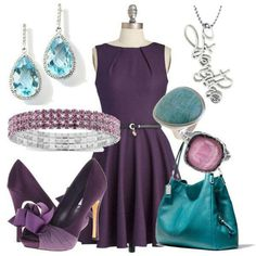 A fashion look from June 2013 featuring purple mini dress, purple platform pumps and man leather shoulder bag. Browse and shop related looks. Unique Fashion, Fashion Looks, Womens Fashion, Fashion Design, Fashion Styles, Fashion Ideas, Fashion Inspiration, What Should I Wear Today, What To Wear