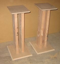 Custom DIY Speaker Stands For Less | Blog For Whoever                                                                                                                                                                                 More