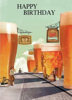 Happy birthday l Beer