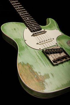 LaRose Guitars, Tyler, TX: Thin 6 Swamp Ash or Alder Body Pickups: Lollar Special T Bridge Lollar Vintage T Neck,  TODD D'AGOSTINO ~ Luthier