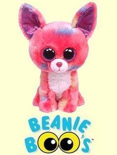 Ty-6-Cancun-Beanie-Boos-Small-Chihuahua-CUTE-CUDDLY