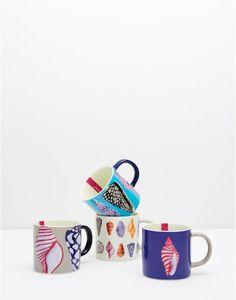 SHORELYFour pack Coastal Mugs