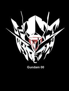 00 Raiser silhouette reverse by on DeviantArt Gundam Head, Gundam 00, Gundam Exia, Blood Orphans, Gundam Wallpapers, Gundam Mobile Suit, New Gods, Fantasy Weapons, Gundam Model