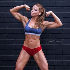 SEXY ATHLETIC DREAM WIFE BODY of IFBB Pro #Fitness model Ana Delia De Iturrondo : if you LOVE Health, Bodybuilding & #Fitspiration - you'll LOVE the #Motivational designs at CageCult Fashion: http://cagecult.com/mma