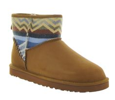 42ab3ca70c Classic Mini Deco Pendleton in Chestnut by UGG® Australia - Women s UGG®  Boots –