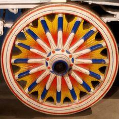 Circus Wheel  Antique