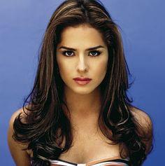 Danna García - intense stare