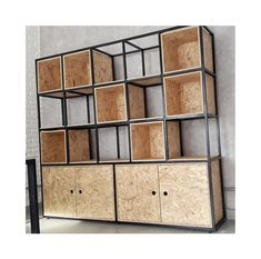 Things That You Need To Know When It Comes To Industrial Decorating You can use home interior design in your home. Industrial Furniture, Iron Furniture Design, Steel Furniture, Iron Furniture, Shelving Design, Furniture Design, Metal Furniture, Osb Furniture, Industrial Style Decor