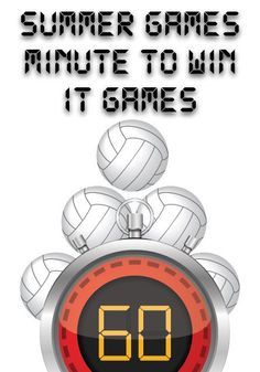Summer Olympics Minute to Win It Games (Minutes To Win It Games For Teens) Olympic Games For Kids, Olympic Idea, Gym Games For Kids, Summer Camp Games, Summer Camp Activities, Camping Games, Activities For Kids, Yurt Camping, Kids Camp