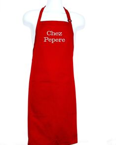 Chez Pepere Apron, Custom Personalized Grandparent Birthday Gift, Grampy, Pops, Papaw, Poppy, Great Grandpa, PawPaw, Ships TODAY, AGFT 814 Little Gifts For Him, Handmade Shop, Handmade Gifts, Love To Shop, Creative Gifts, Etsy Store, Creations, Etsy Seller, Grilling Gifts