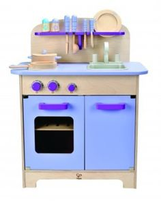 Blue Wooden Play Kitchen pink play kitchen | hape toys | online at directtoys nz | wooden