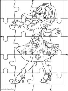 Printable jigsaw puzzles to cut out for kids Precious Moments 26