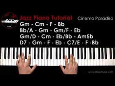 DRJASSMUSIC Jazz Piano Tutorial - Cinema Paradiso (English) - YouTube