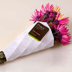Fract fabulous flower #wrapper #packaging PD