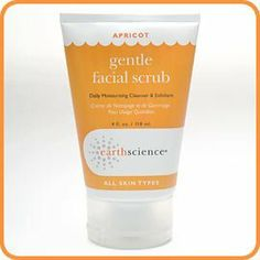 Apricot Gentle Facial Scrub Creme 4 oz, Earth Science by Earth Science. $7.12. 4 Ounces Cream. Serving Size:. Apricot Facial Scrub is a daily soap-free moisturizing exfoliant and cleanser in a base of nine moisturizers to prevent drying.