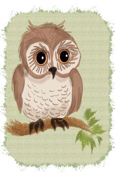Owl by Michelle Behar
