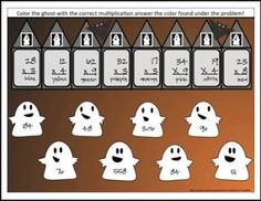 "FREE MATH LESSON - ""Halloween Math Activities for Multiplication and Division"" - Go to The Best of Teacher Entrepreneurs for this and hundreds of free lessons. 3rd - 5th Grade  #FreeLesson   #Math   #Halloween   http://www.thebestofteacherentrepreneurs.com/2015/10/free-math-lesson-halloween-math.html"