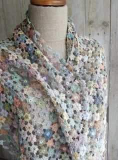 "Sophie Digard crochet - ""Virginia"" scarf"