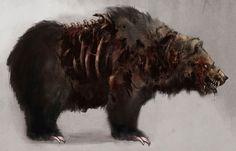 Zombie Bear - The Secret World Concept Art