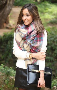 foulard zara 18 - Foulard Color