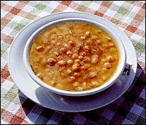 La Mesc-ciua, minestra di legumi Ligure