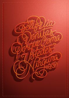 Lettering Mothers day