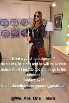 HAHAHA I really need that housekeeper ♥