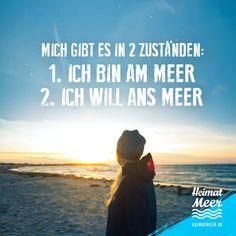 Ich BIN am Meer oder ich WILL ans Meer! PS: Mee(h)r für Meer-Fans >>