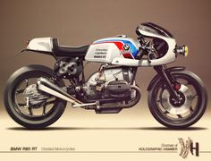 cafe racer bmw | Cafè Racer Concepts - Bmw R80 RT Bol D'Or by Holographic Hammer