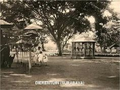 Areal kawasan Kebun Binatang Soerabaja th Army Names, Dutch East Indies, Dutch Colonial, Surabaya, First World, Past, Outdoor Structures, History, Image