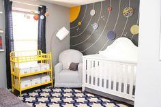 Amazing space themed nursery!