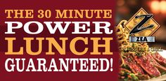 ZEA Power Lunch Banner 3x6ft
