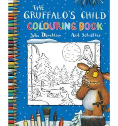 Draw and colour with the Gruffalo's Child!